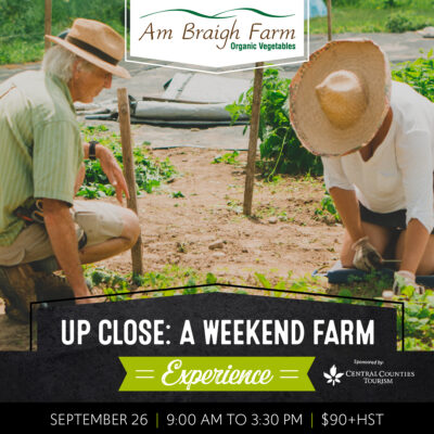 Up Close: A Weekend Farm Experience at Am Braigh Farm