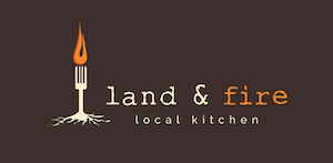 land and fire logo